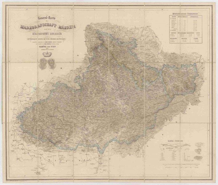 Schlesien karte