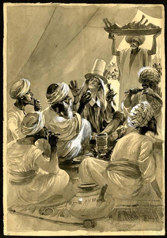 Esbirky Cz Ilustrace Pousti
