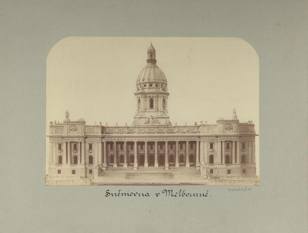 Esbirky Cz Budova Snemovny Parliament House Reprodukce Kresby